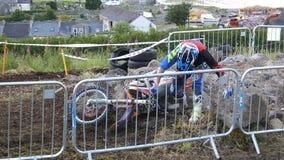 Endurocross motorcycle racing Glenarm Co.Antrim Northern Ireland. Endurocross motorcycle racing in Glenarm Co.Antrim Northern Ireland stock photos