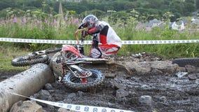 Endurocross motorcycle racing Glenarm Co.Antrim Northern Ireland. Endurocross motorcycle racing in Glenarm Co.Antrim Northern Ireland stock images