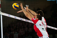 Enea Cup Poland volleyball stock images