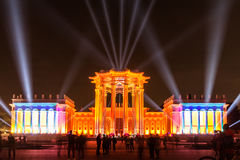 ENEA (VDNH) Abertura do festival internacional o círculo de Lig Foto de Stock Royalty Free