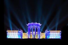 ENEA (VDNH) Abertura do festival internacional o círculo de Lig Foto de Stock