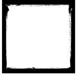 Enegreça o frame da tinta ilustração do vetor