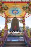Enegreça o sino no templo chinês Imagem de Stock Royalty Free