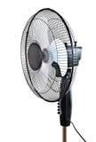 Enegreça o ventilador do escritório Foto de Stock Royalty Free