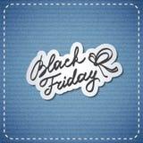 Enegreça sexta-feira Imagens de Stock Royalty Free