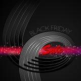 Enegreça sexta-feira Imagens de Stock