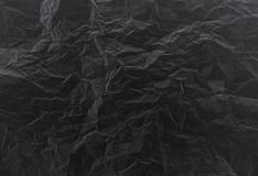 Enegreça a textura de papel Imagens de Stock Royalty Free