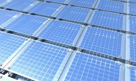 Enegy solare Fotografie Stock