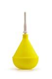 Enema amarillo Imagenes de archivo