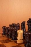 Enemigo en las filas Foto de archivo libre de regalías