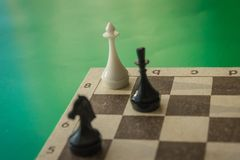 The enemy is cornered. royalty free stock images
