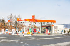 ENEOS petrol station Stock Photo