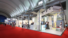 EnerChina 2010. Beijing, China Stock Image