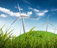 Energía alternativa Fotografía de archivo libre de regalías