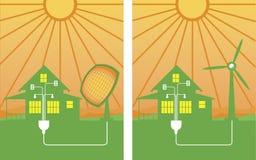 Energía alternativa libre illustration