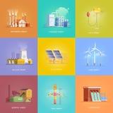 Energía alternativa stock de ilustración