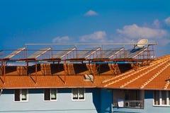 Energía alternativa Solars Foto de archivo libre de regalías