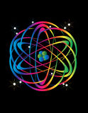 Energía atómica Fotos de archivo libres de regalías