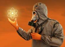 Energía atómica Imagen de archivo