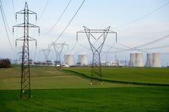 Energía atómica Foto de archivo