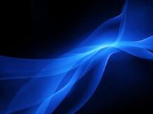 Energía azul Imagen de archivo libre de regalías