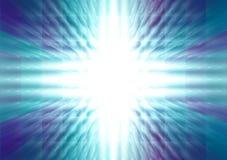 Energía azul stock de ilustración