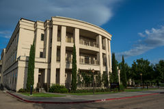 Energía, costa, y edificio del ambiente en LSU Imagen de archivo libre de regalías