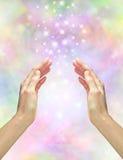 Energía curativa mágica Fotos de archivo libres de regalías