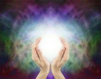 Energía curativa sagrada de Pranic Foto de archivo libre de regalías