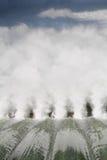 Energía de agua, aliviadero de la presa Imagenes de archivo