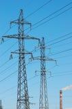 Energía de la potencia Imagen de archivo libre de regalías