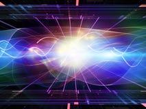 Energía de la señal Imagenes de archivo