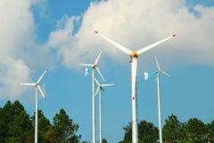 Energía de la turbina fotografía de archivo libre de regalías