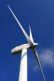 Energía de la turbina de viento Fotografía de archivo libre de regalías