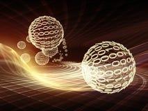Energía de los reinos del fractal ilustración del vector