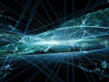Energía de los reinos del fractal Imagen de archivo libre de regalías