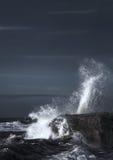 Energía de onda Fotografía de archivo libre de regalías
