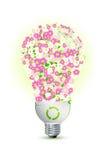 Energía del ahorro Foto de archivo libre de regalías