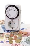 Energía del ahorro Imagen de archivo