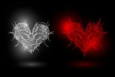 Energía del corazón Foto de archivo libre de regalías