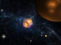 Energía del espacio Imagenes de archivo