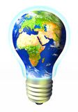 Energía del globo Foto de archivo libre de regalías