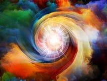 Energía del movimiento interno Fotos de archivo