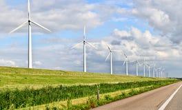 Energía eólica Fotos de archivo libres de regalías
