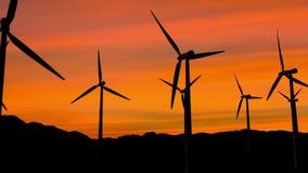 Energía eólica metrajes