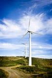 Energía eólica Fotos de archivo