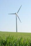 Energía eólica Imágenes de archivo libres de regalías
