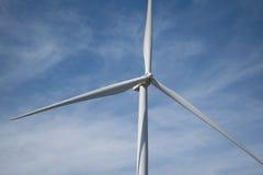 Energía eólica en la montaña Fotografía de archivo libre de regalías