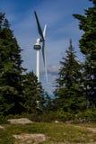 Energía eólica renovable Imagen de archivo libre de regalías