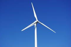 Energía eólica verde Fotografía de archivo